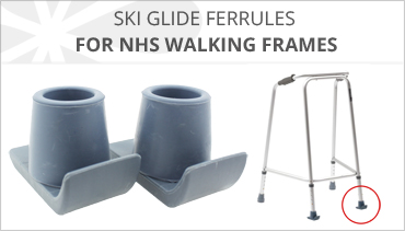 SKI GLIDES FOR NHS WALKING FRAMES